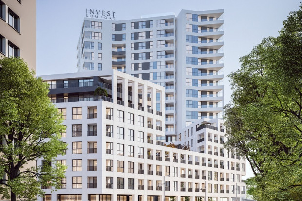 Budynki kompleksu Portova będą miały zróżnicowaną wysokość.