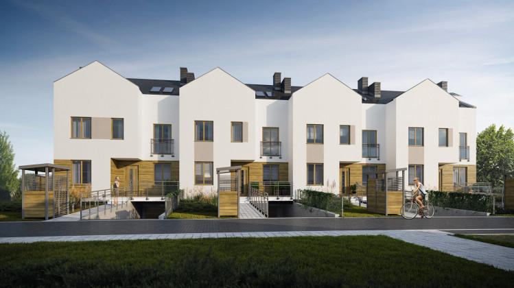 Wizualizacja ostatniego etapu domów powstałego do 2020 roku w ramach osiedla Wróbla Staw.