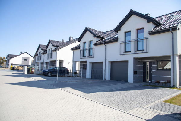Część domów na osiedlu powstało w wersji premium.