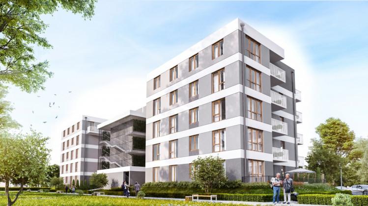 W czwartym etapie inwestycji powstaje budynek z 42 lokalami.