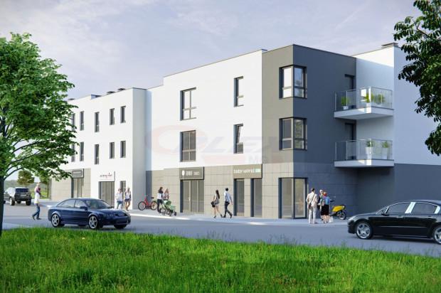 W budynku powstanie 30 mieszkań i lokale handlowo-usługowe.