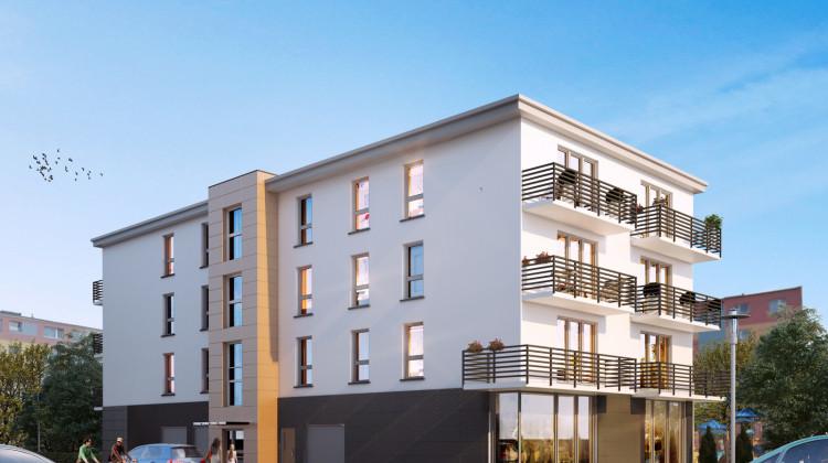 W budynku przy Spacerowej powstało 16 lokali mieszkalnych oraz 3 usługowe.
