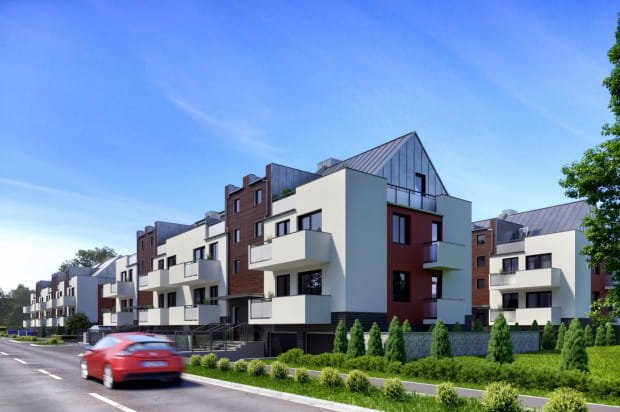 Cała inwestycja składała się będzie z czterech budynków.