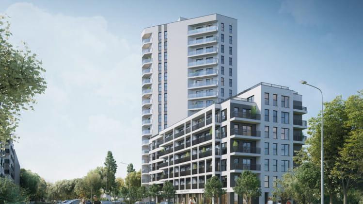 Cała inwestycja składała się będzie z budynków o zróżnicowanej wysokości.