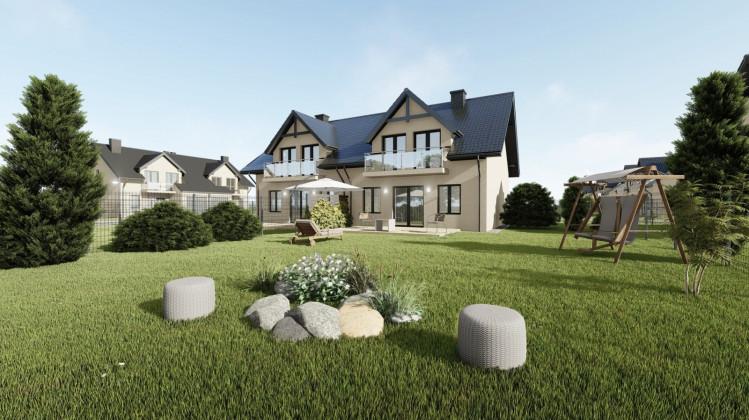 Obok domów będą duże ogrody.