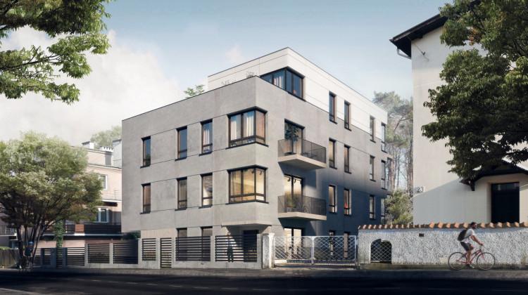 Najwyższa kondygnacja będzie wycofana, dzięki czemu do apartamentu przylegał będzie obszerny taras.