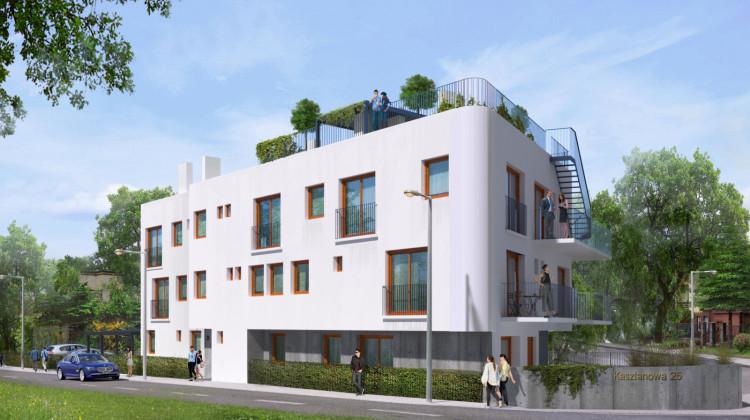 Typowo miejska i typowo gdyńska architektura budynku wkomponuje się w zabudowę Orłowa.