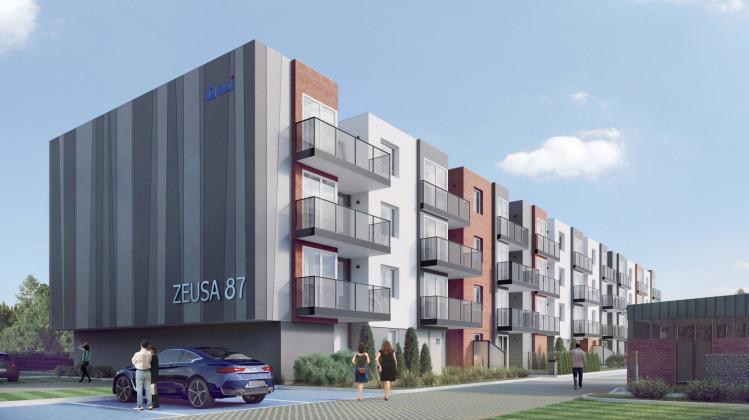 W czterokondygnacyjnym budynku powstanie w sumie 66 mieszkań.
