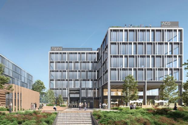 Alpha. Pierwszy budynek biurowy kompleksu przy gdańskim lotnisku.