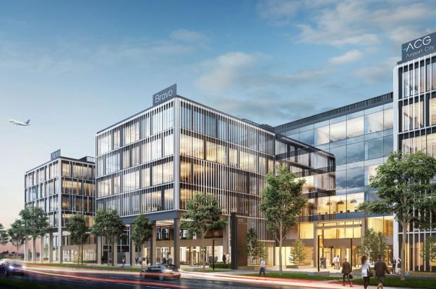 Bravo. Drugi budynek biurowy kompleksu przy gdańskim lotnisku (w planach).