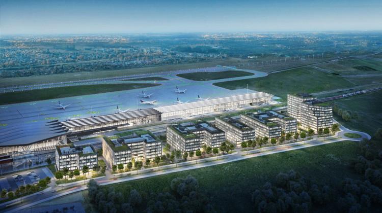 Airport City w całości.
