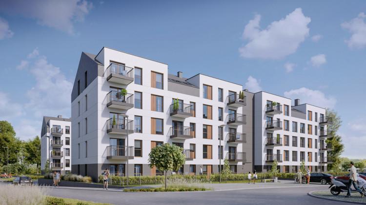 Na ostatnich kondygnacjach powstają mieszkania ze skosami, co daje możliwość urządzenia wyjątkowego wnętrza.