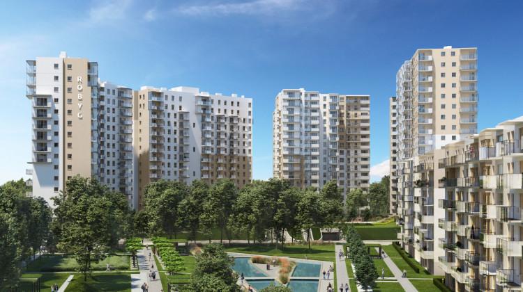 Nowa Letnica składać się będzie z budynków różnej wysokości, pomiędzy nimi nie zabraknie terenów zieleni.