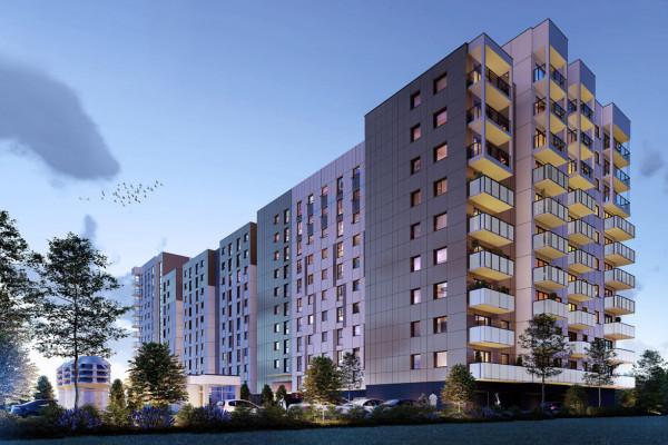 Budynek będzie miał 10 pięter, a w najwyższym miejscu nawet 12.
