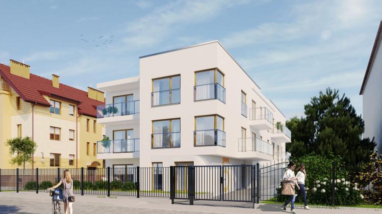 Nowy budynek powstanie w otoczeniu kameralnej, miejskiej zabudowy.