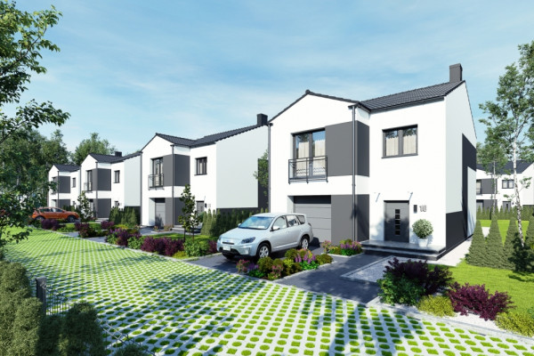 Ponadczasowa architektura domów sprawi, że będą one eleganckie i modne przez wiele lat.