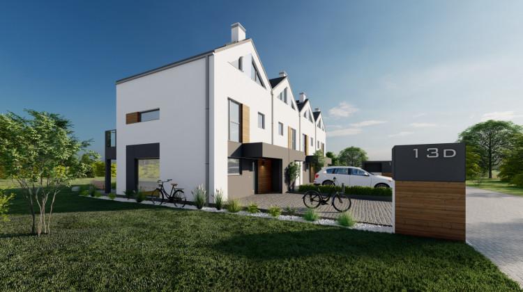 Domy z drugiego etapu inwestycji.