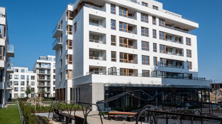Kwartał zabudowy Leśmiana/Stachury oddany do użytkowania w 2019 roku.