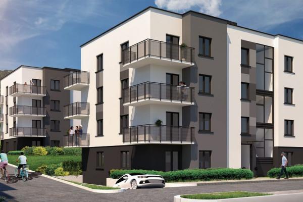 Budynki o nowoczesnej architekturze staną u stóp Trójmiejskiego Parku Krajobrazowego.