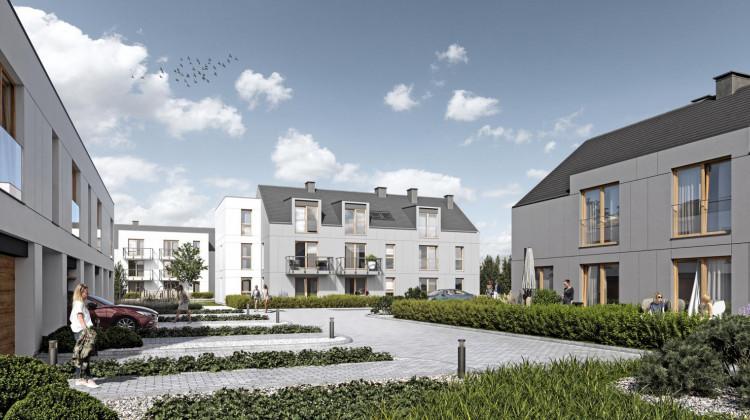 W drugim etapie inwestycji powstało zaledwie 12 lokali (domów lub apartamentów).