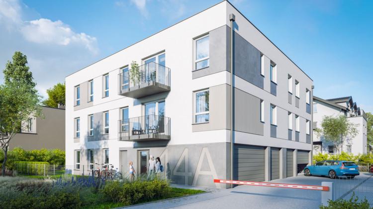 W części parteru budynku powstaną garaże indywidualne. Pd budynkiem nie będzie hali garażowej.