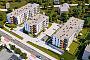 W ramach osiedla powstaną trzy budynki ze 102 mieszkaniami.