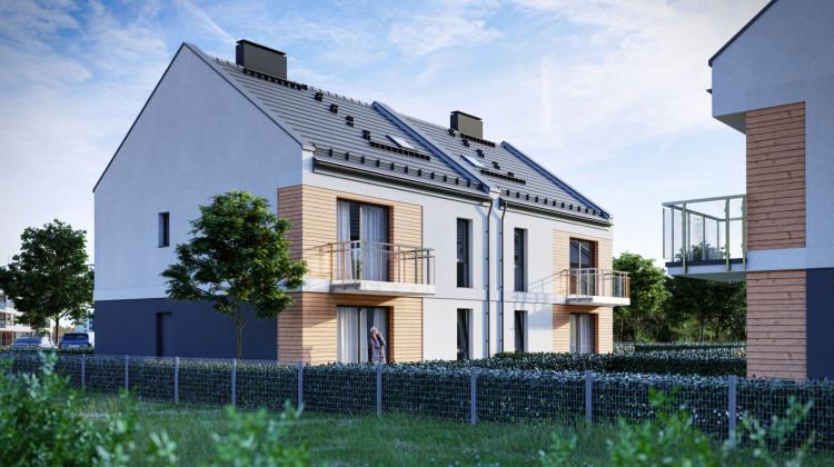 W kameralnych budynkach znajdują się zaledwie cztery mieszkania.
