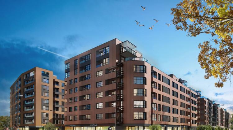 Architektura budynków nawiązywać będzie do wyglądu okolicznych zabudowań postoczniowych.