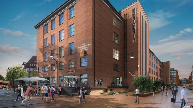 Otoczenie hali zostanie tak zorganizowane, by stanowiła ona centrum życia tej części Młodego Miasta.