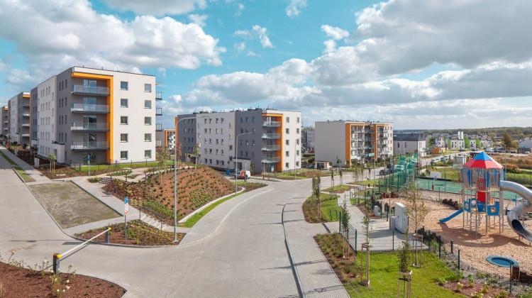 Kolejne budynki i infrastruktura zostały oddane na osiedlu w III kwartale 2020 roku.