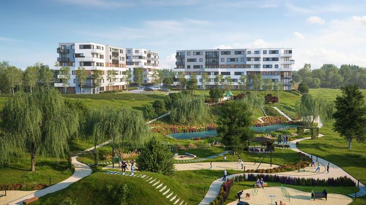 Razem z budynkami mieszkalnymi powstanie park o powierzchni niemal 6 tys. m kw.