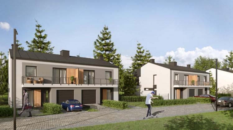 W ramach osiedla powstanie zaledwie siedem dwurodzinnych domów.