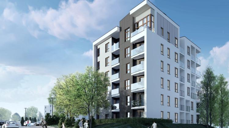 W ramach inwestycji powstają w sumie cztery budynki z 210 mieszkaniami na wynajem.