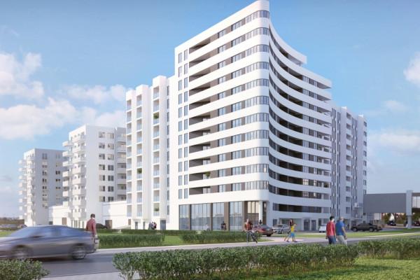 Ostatni, najbardziej zbliżony do aquaparku, budynek kompleksu zostanie oddany do użytkowania w 2022 roku.