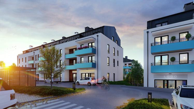 W budynkach mieszkaniowych od strony ulicy Szafranowej powstaną także lokale usługowe.