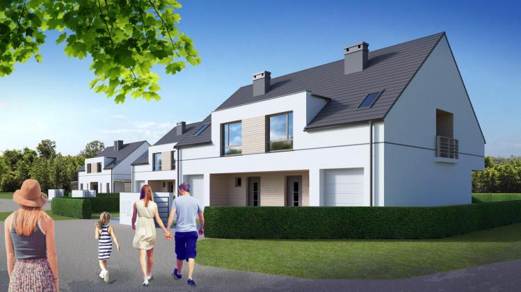 Domy stworzą kameralny, spójny architektonicznie kompleks.