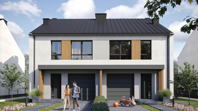 Drewniane elementy na elewacjach domów nadają im charakteru.