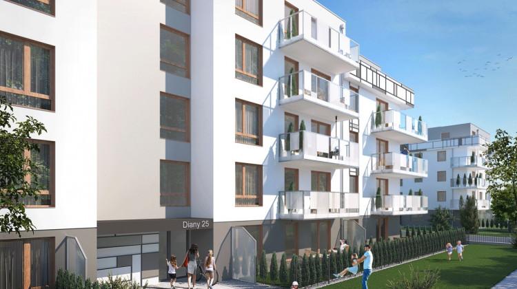 Budynek Diany 25 gotowy będzie w połowie 2023 roku.