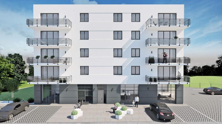Miejsca postojowe dla mieszkańców dostępne będą wokół budynku.