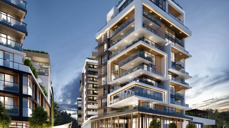 W pierwszym etapie powstanie budynek 12-kondygnacyjny oraz dwa budynki 13-kondygnacyjne.