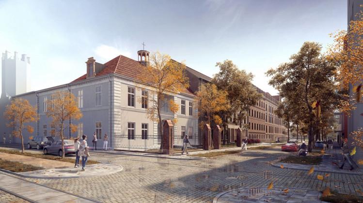 Zabytkowa willa Uphagena odzyska dawny blask, ale w nowej funkcji. Powstaje w niej pięć apartamentów i restauracja.