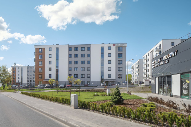 Budynki oddane w pierwszym etapie inwestycji.