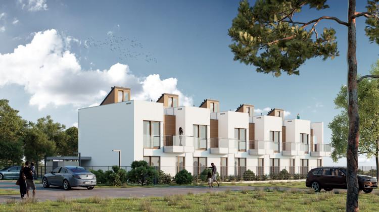 Na obszerne tarasy dachowe wyjść będzie można bezpośrednio z mieszkania.