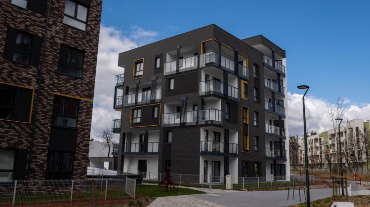 Budynki osiedla powstałe w 2020 roku.