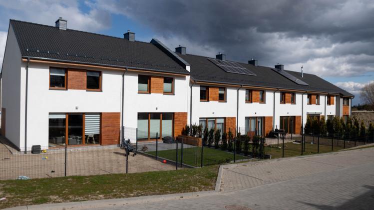 Domy oddane na osiedlu Olchowa w 2020 roku.