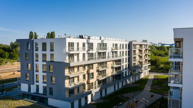 Pierwszy etap osiedla Przystań Letnica został oddany do użytkowania w 2020 roku.