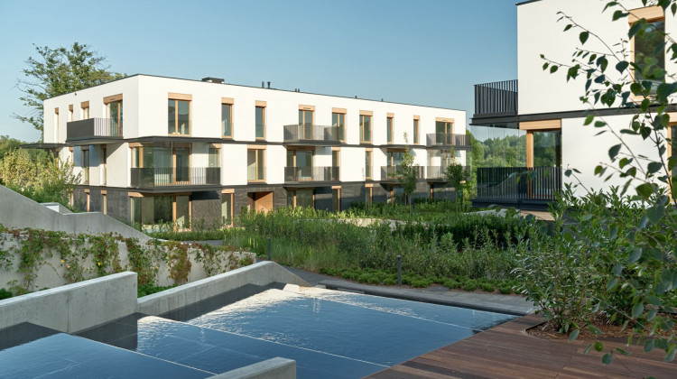 Budynki Nowych Kolibek zrealizowane w drugim etapie, do połowy 2020 roku.