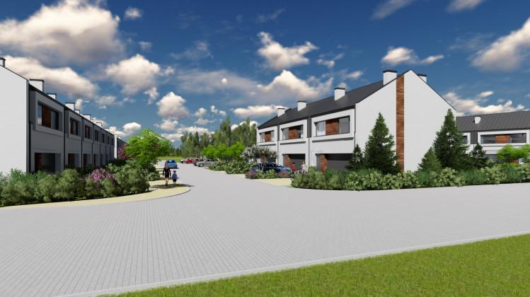 Osiedle Wilga będzie składało się z 33 domów o architekturze dopasowanej do zielonego otoczenia.