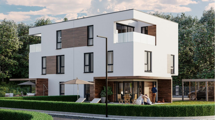Deskowania na elewacjach domów pomogą wkomponować zabudowę w naturalne otoczenie.