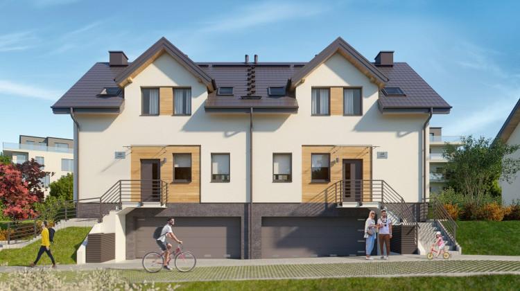 Domy w zabudowie bliźniaczej będą miały trzy kondygnacje.